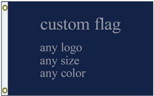 Custom flag company of any sizeal flags and banners of 3 x 5 ft (s)