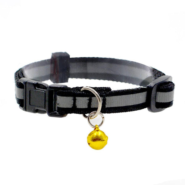 Cute Reflective Small Dog Puppy Cat Collar With Bell Neck Adjustable Pet Cat Puppy Dogs Leash Long Smooth Dog Leash Pet Product