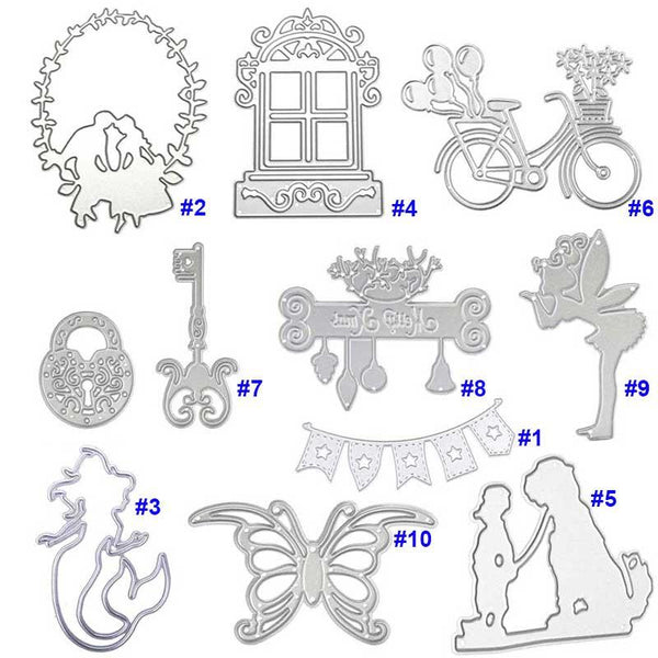 DIY Steel Design Cutting Dies Stencil Scrapbooking Embossing Card Paper Craft Decoration