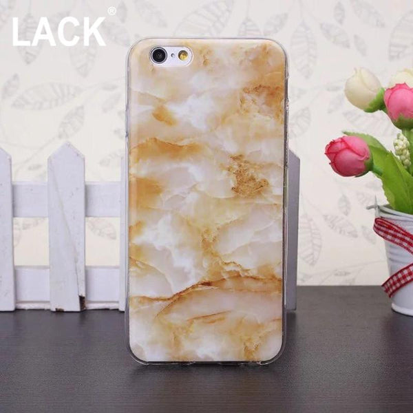 "Fashion Granite Marble Texture Cover for iPhone 5S Case For iphone 5 5S SE 6 6S 4.7"" Plus 5.5"" Soft IMD Phone Cases Capa"