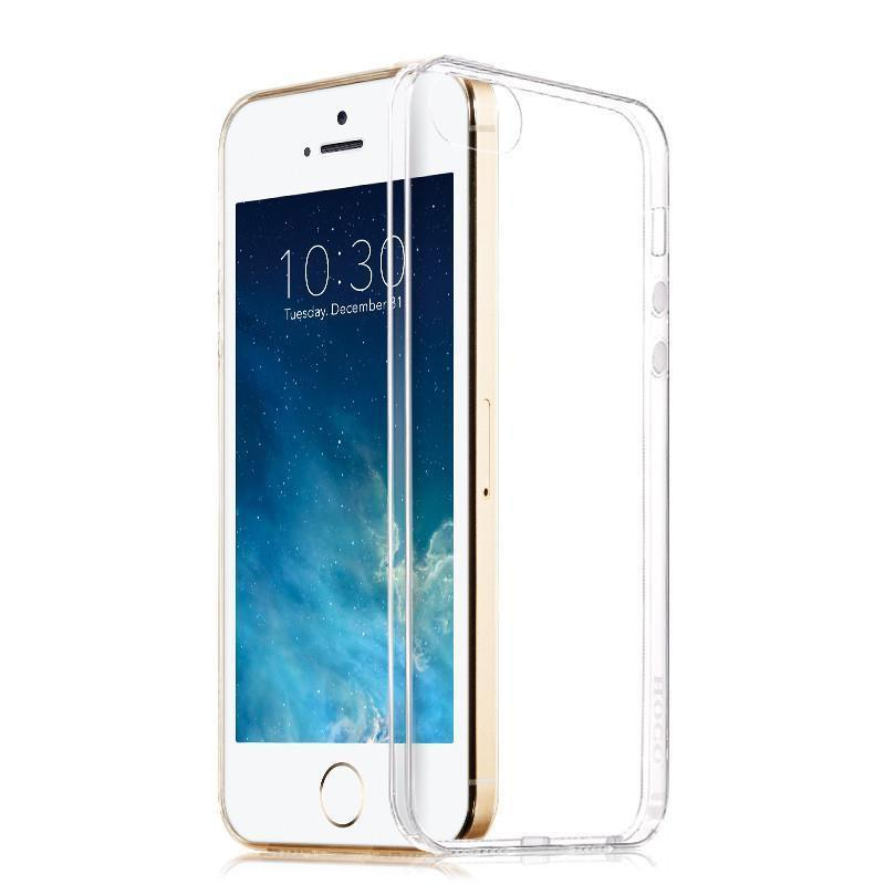 Fashion Ultra Thin Transparent Tpu Soft Silicon Capa Case For Apple Iphone 5 5s Phone Anti-Dust Back Cover Cases