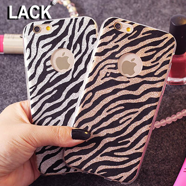 Fashion Zebra Leopard Pattern Case For iphone 6 For Apple iphone 6S 6 Plus 6S Plus Phone Cases Back Cover Capa Fundas Coque
