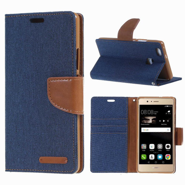 For Huawei P9 Lite Case. msk Fancy Diary Magnetic Leather Stand Cover Case for Huawei Ascend P9 Lite Mini G9 case funda