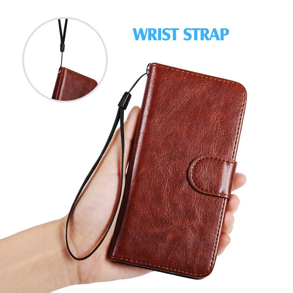For iPhone 6S Case Detachable Wallet Flip Case Card Slot Cover Coque For iPhone 6 5 5S Case For iPhone 7 Plus Leather Case Strap