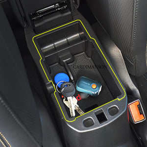 For Jeep Renegade 2015-2017 Central Armrest Storage Box Container Holder Tray Car Organizer Accessories Car Styling