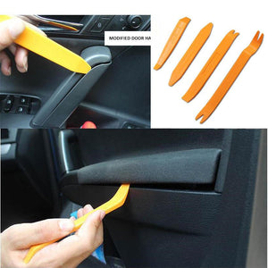 Car DVD player Stereo Refit Tools Interior Plastic Trim Panel Dashboard Panel Removal Installer Tools 4pcs set
