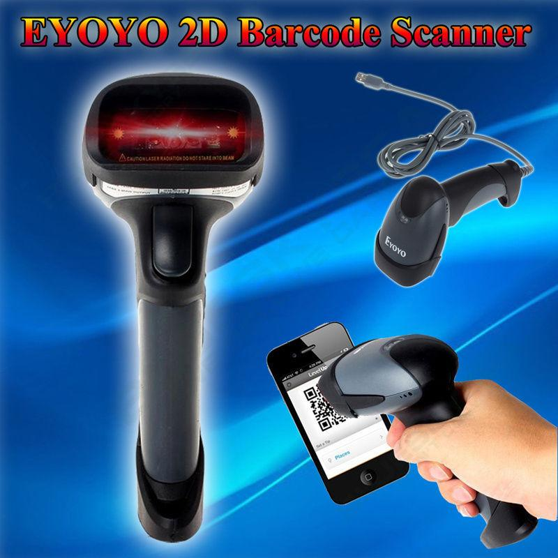 Eyoyo M5 2d Wired Handheld Usb Scanner Qr Code Barcode Reader For Mobile Payment Computer Screen Scanner