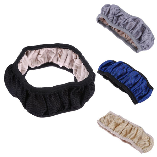 Handbrake Auto Car Steering Wheel Cover Cars Steering-Wheel Covers Warm Fabric Mesh Car Styling Diameter 38cm ME3L