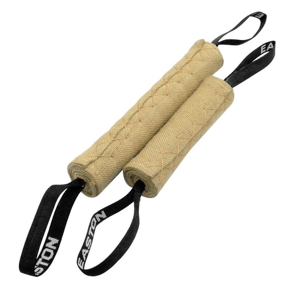 Heavy Duty Linen Professional Dog Tug Toy Pet Bite Toys With 2 Handles For Pet Training Play Throw 2 Sizes Adjustable