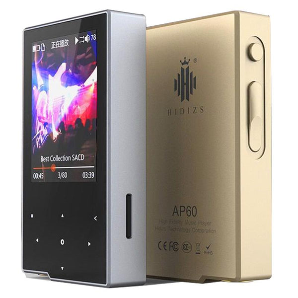 Hidizs AP60 DSD HiFi Lossless Pocket Bluetooth 4.0 Apt-x Music Player