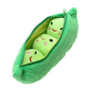 25cm Kids Baby Plush Toys For Children Cute Pea Stuffed Plant Doll Girlfriend Kawaii Toy FCI#