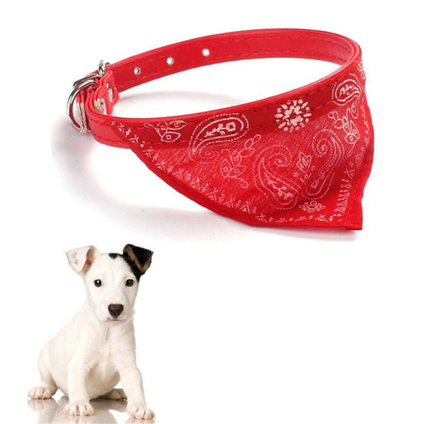 Home Wider Adjustable Pet Dog Cat Puppies Collars Scarf Neckerchief Necklace Triangle Dec20