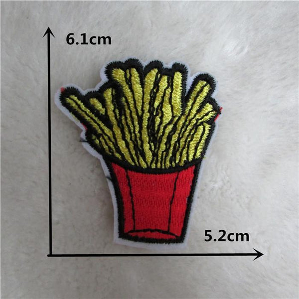 Fruit Patch Melt Adhesive Applique Embroidery Patch Diy Clothing Accessory Patch C412-c2041