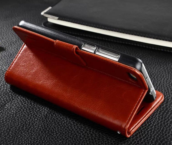 Huawei honor 6 Leather case Wallet Leather Case For Huawei Honor 6 Hight Quality PU Leather Stand Case For Honor 6