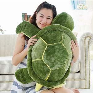 Huge Size Plush Tortoise Toy Cute Turtle Plush Pillow Staffed Cushion for Girls Vanlentine's Day