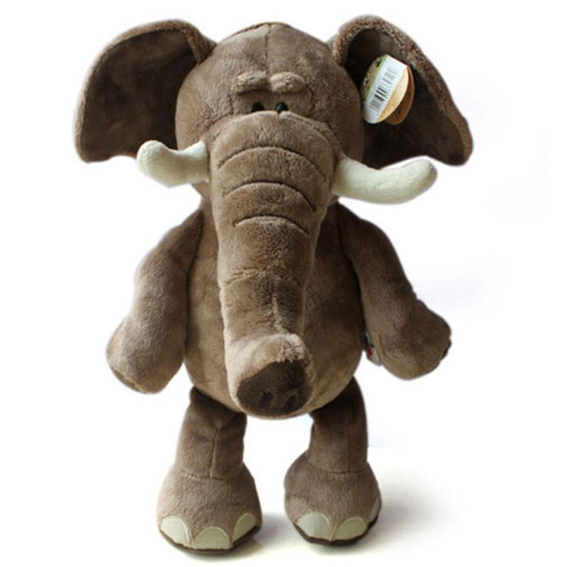 Kids Plush Toys Lovely Plush Toy Elephant 35cm Plush Toys Stuffed Doll HT443