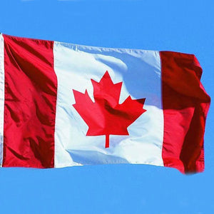 Large 3ft x 5ft Canadian Flag Polyester Canada Maple Leaf Banner Outdoor Indoor #48118