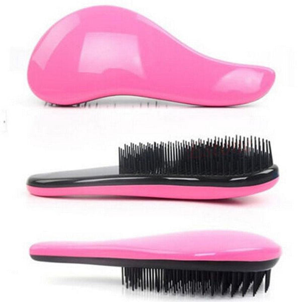 Magic Detangling Comb Handle Tangle Shower Hair Brush Salon Styling Tools