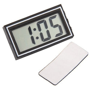 Mini Poratble Electronic Car Desk Date Time Calendar Clock Digital LCD Auto Truck Clock Dashboard