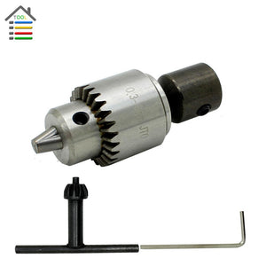 0.3-4mm Electric Drill Chucks Mount JTO Taper for Lathe PCB Mini Drill Bits Presses for 6mm Motor Shaft Shank Rotary Tools