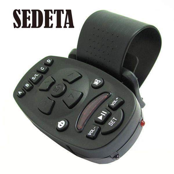1pcs Universal Steering Wheel Remote Control for Car Audio Video MP3 16 keys High-capacity memory