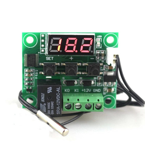 -50~100 digital temperature controller thermostat temperature control thermostat switch plate W1209