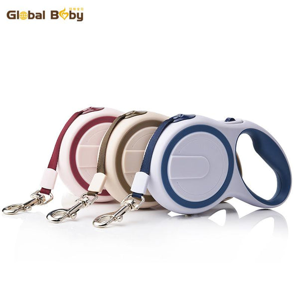 Brand ABS High-Grade Stable Durable 3 Meter Automatic Retractable Dog Traction Rope Leashes Pet Leads