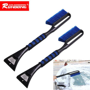 Car Snow Scraper Snowbrush Shovel Removal Brush Winter or19