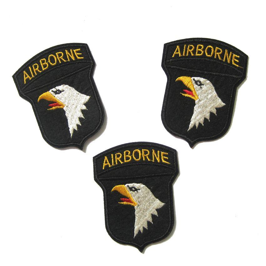 Patch Airborne Army Patches Strijk Applicaties For Clothing Quality Guarantee Parche Ropa Custom Applique
