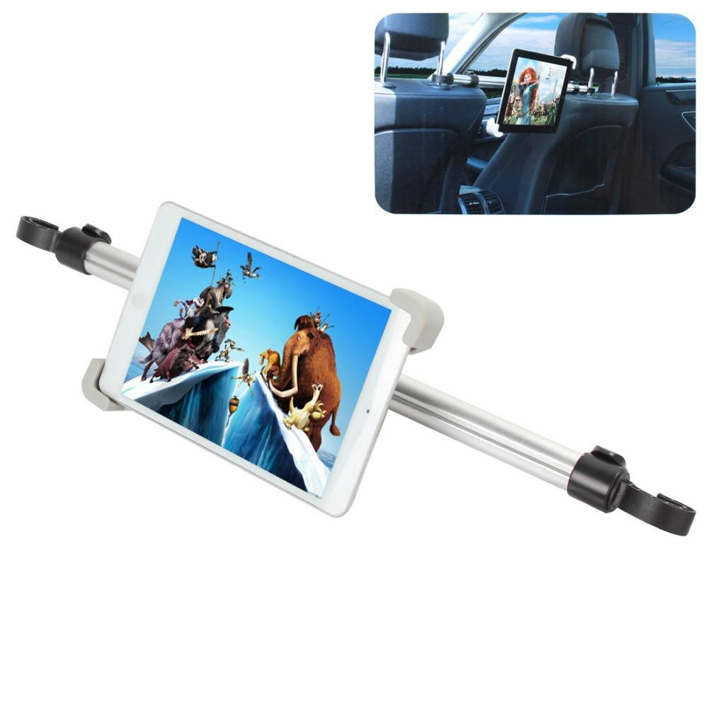 Universal Car Mount Rear Headrest Holder Between Two Seats 360 Degree Rotation for 7 - 11 Inches Tablet PCs