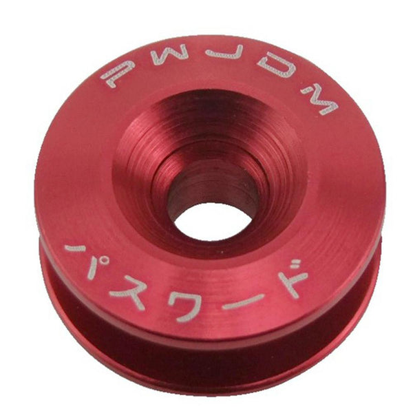 Car Quick Release Fasteners Ideal For Front Bumpers Rear Bumpers Surrounds Reinforcement Ring With JDM Logo