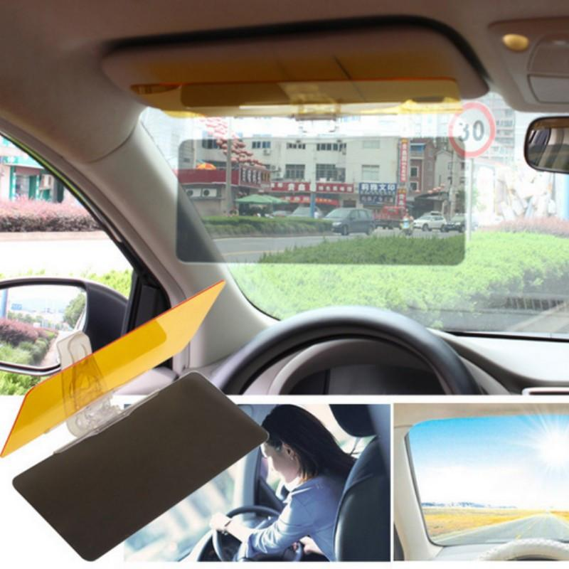 Car Protective Parasol Sun Shade Sunshade Shield Mirror Clip Night Vision