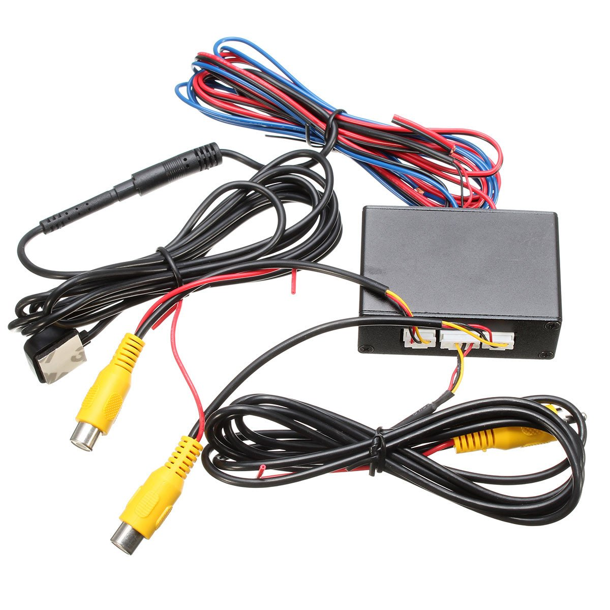 Intelligent control car camera video switch(car video automatic switch) connect front or side rear cameras
