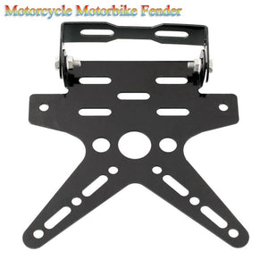 Motorcycle Motorbike Fender Eliminator License Plate Bracket Steel Black Dirt Bike Atv Sport Durable Cool