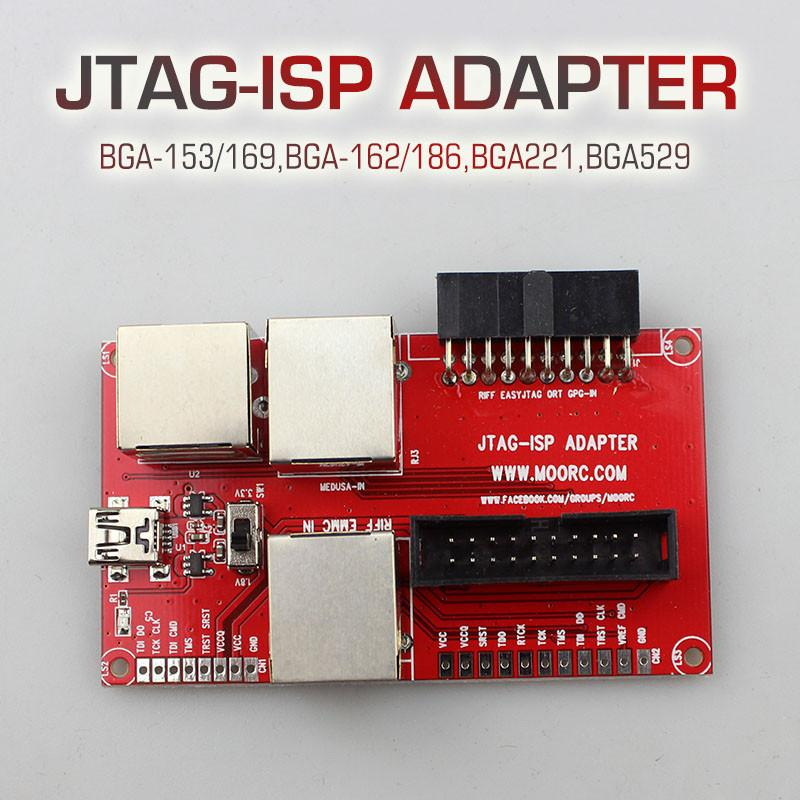 est JTAG ISP Adapter ALL IN 1 For RIFF EASY JTAG Z3X PRO JTAG MEDUSA EMMC E-MATE BOX ATF BOX