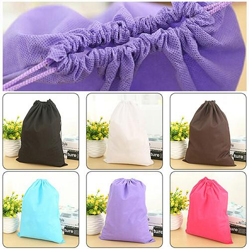 Laundry Shoe Travel Pouch Portable Tote Drawstring Storage Bag Organizer 7KIW