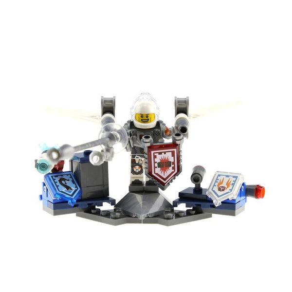Nexus Knights ULTIMATE Clay Macy Aaron Robin Lavaria Marvel Building Blocks Toys Minifigures Nexus Knight Compatible with es