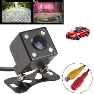 Parktronic Car Rear View Camera Waterproof HD CCD 4 LED Night Vision Rear View Camera Universal Parking Assistance Parktronic