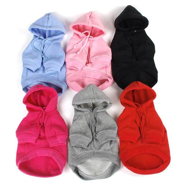Pet Dogs Clothes Puppy Small Dog Cat Hoodie Warm Coat Clothing Costume