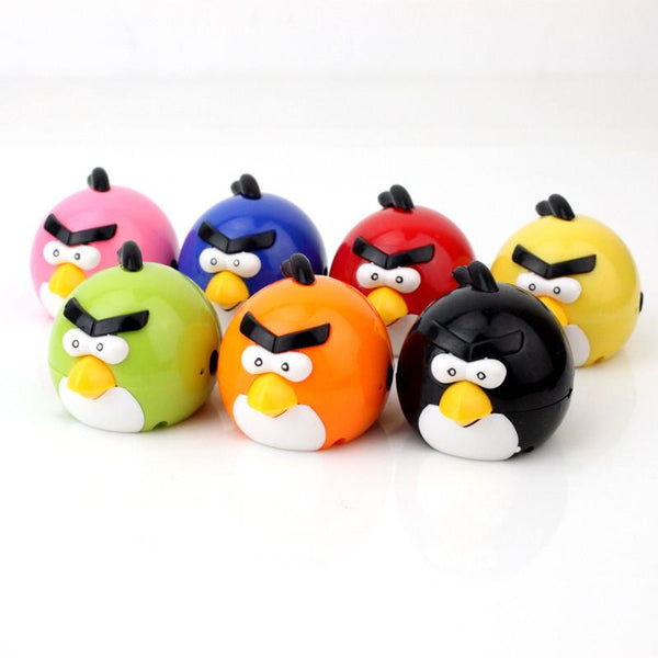 Portable MP3 Player TF Card Slot electronic products Cute colorful bird MP3 music (MP3 only) you can use a USB flash drive