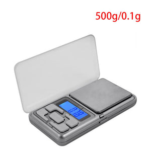 Practical Jewelry Weigh Digital Scales LCD Display Mini Electronic Scale Balance Pocket Scale Kitchen Scale