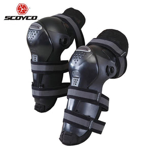 SCOYCO Motorcycle Riding Knee Pads Motocross Off-Road Racing Knee Protector Guard Outdoor Sports Protective Gear Accessories