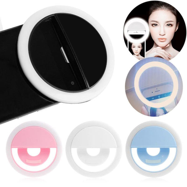 Selfie Portable Classic LED Ring Fill Light Camera Pography for Android Phone iPhone