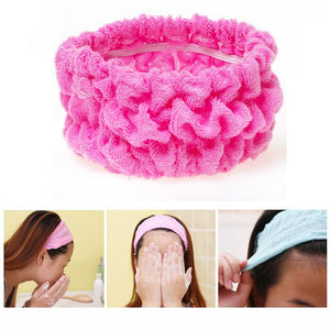 Shower Hair Band Bath Turban Wash Face Make Up Headbands Girls Accessories Elastic Headband Cute Women Hair Bands For Sport Yoga