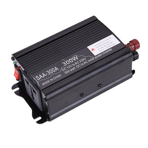 Solar Power Inverter 300W Mini Off Grid Pure Sine Wave Inverter 12V DC-230V AC Modified Conventer