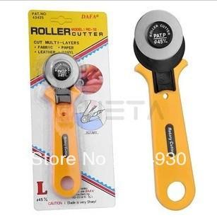 Taiwan Dafa Rotary Cutter RC-12 45mm Rotary Cutter Distinctive Quilters Sewing Quilting Fabric Cutting Crafts