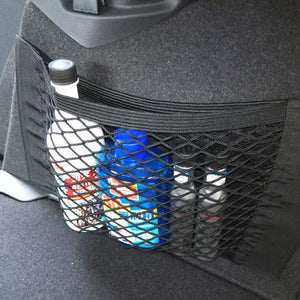 Tiptop Car Auto Back Rear Trunk Seat Elastic String Net Mesh Storage Bag Pocket Cages L706