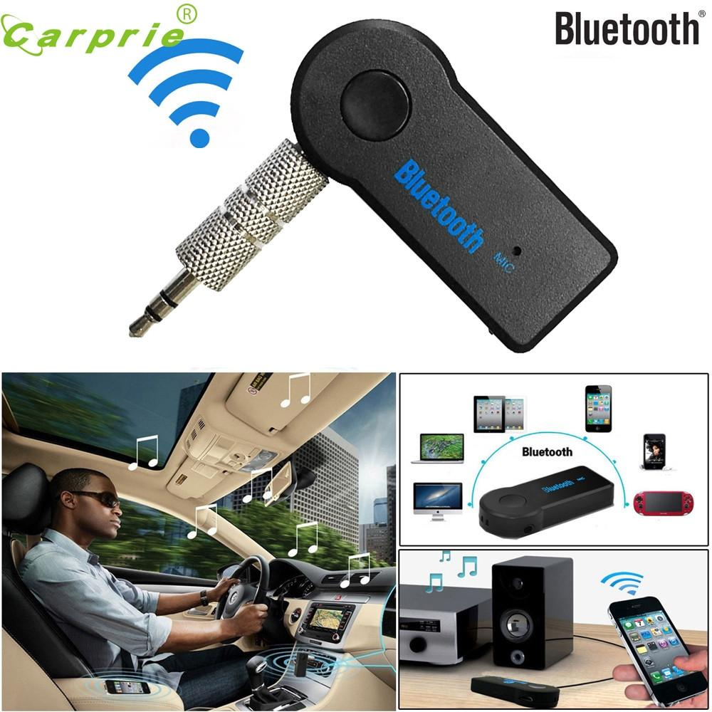 Tiptop Details about Wireless Bluetooth 3.5mm AUX Audio Stereo Music Home Car Receiver Adapter Mic DEC14