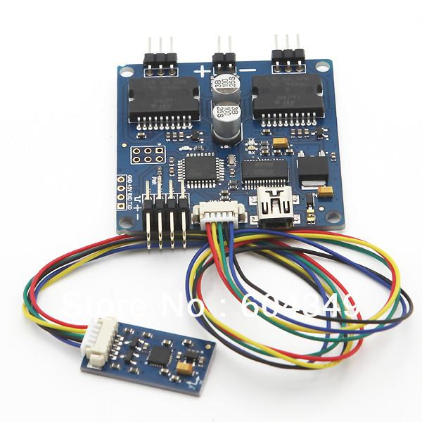 Universal 2-axis 2-axle Brushless Gimbal Controller Open Source V049 Martinez