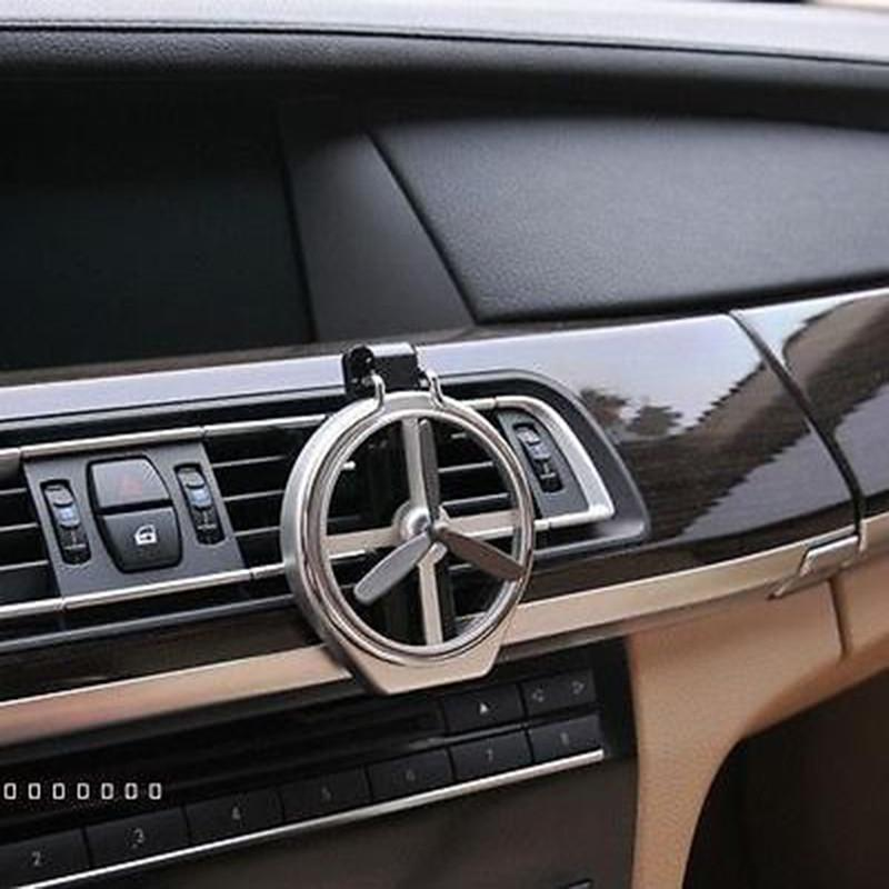 Universal Adjustable Silver Car Auto Air Fan Cup Easy For Drink Wine Water Glass Bottle Cup Mount Holder Stand Car Accessories